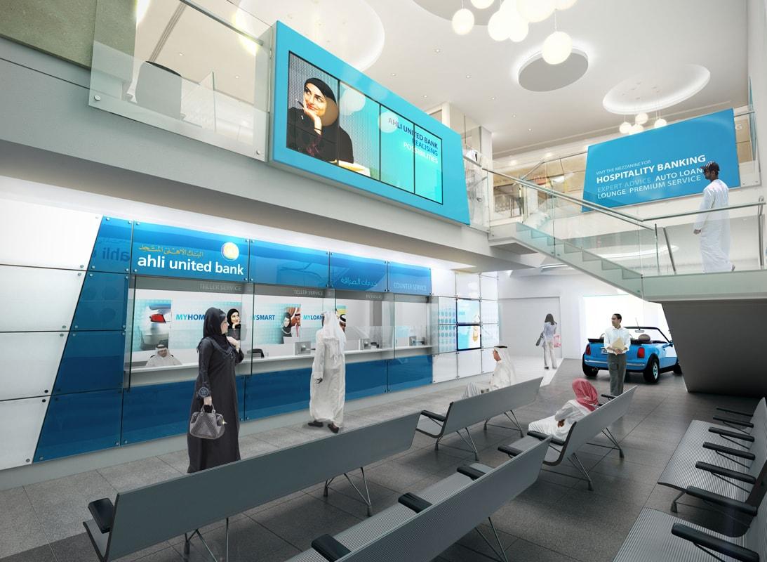 Ahli United Bank | FDP financial retail environments