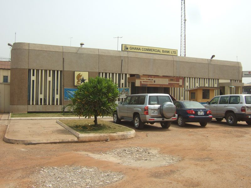 GCB Asafo branch in Ghana - before